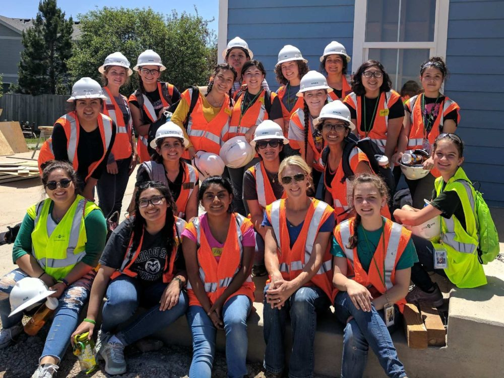 Summer 2018 WICMSI Group at Habitat for Humanity