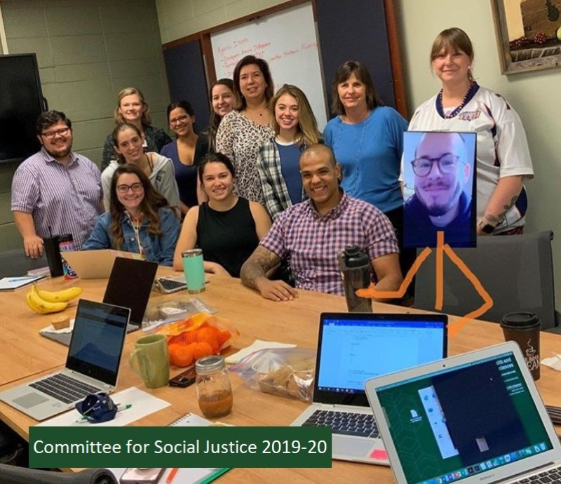 committee for social justice 2019-20