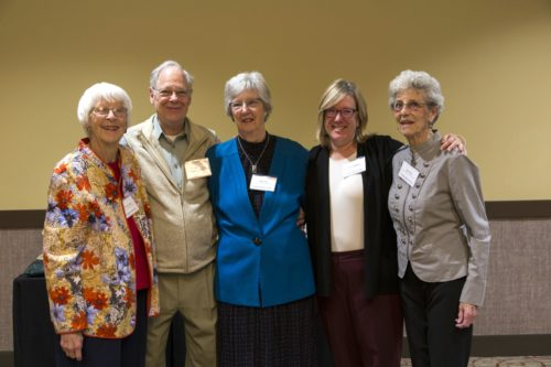 Marie with fellow retirees at a Legacies gathering