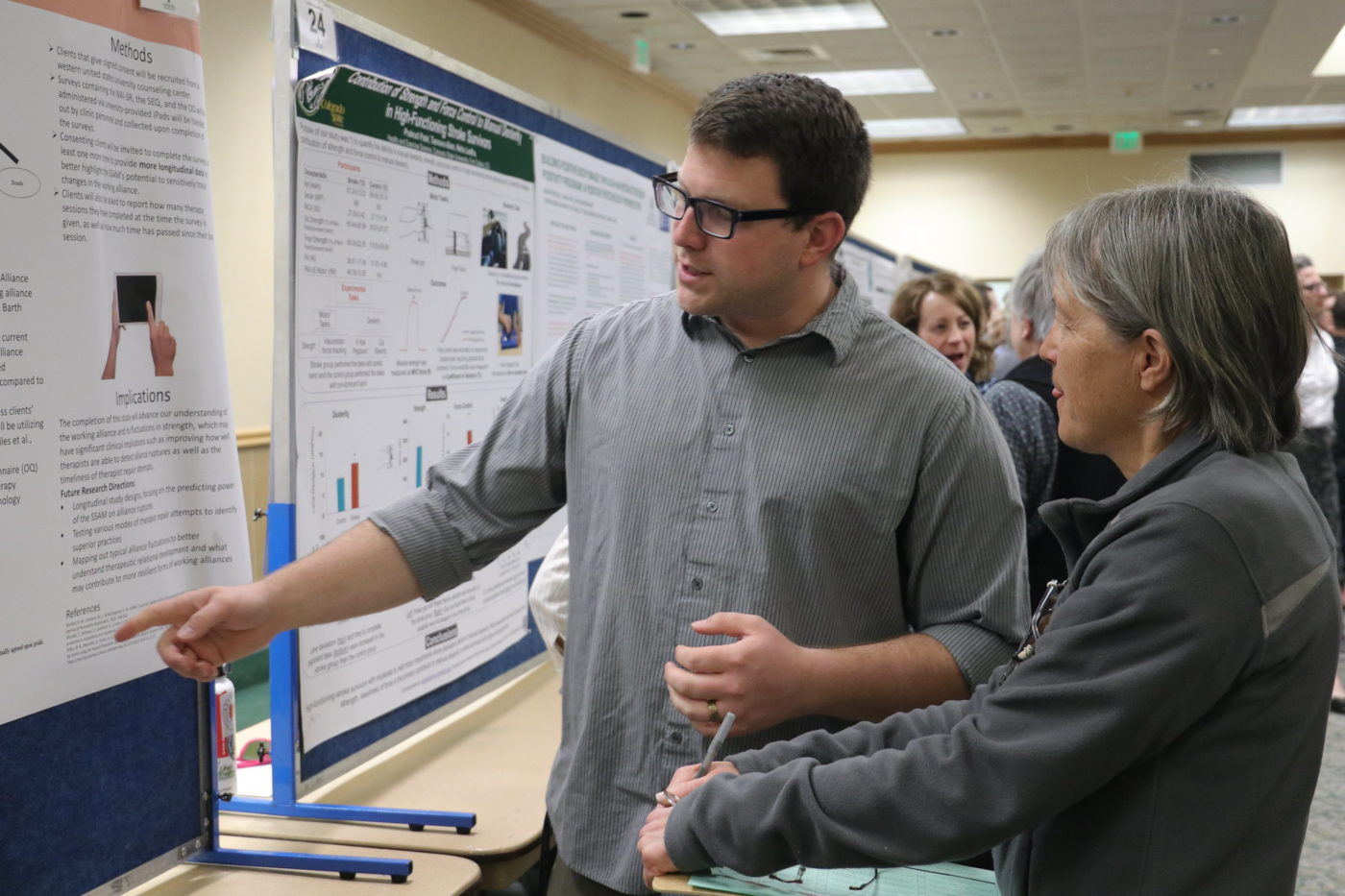 The Colorado State University College of Health and Human Sciences celebrates the variety and quality of research and creative scholarship by the college's students, faculty, and staff at its first annual Research Day, March 10, 2020.